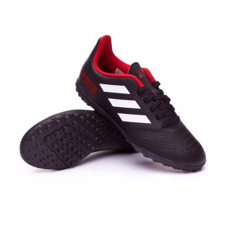 Zapatilla  adidas Predator Tango 18.4 Turf Niño Core black-White-Red