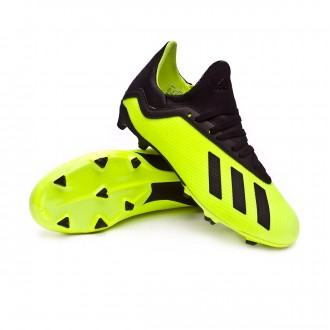 Bota  adidas X 18.3 FG Niño Niño Solar yellow-Core black-Solar yellow