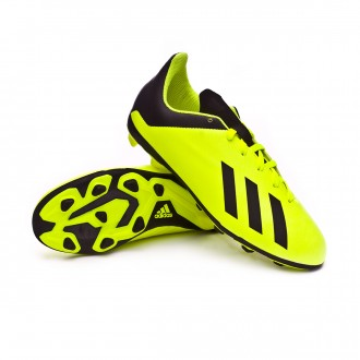 Bota  adidas X 18.4 FxG Niño Solar yellow-Core black-Solar yellow