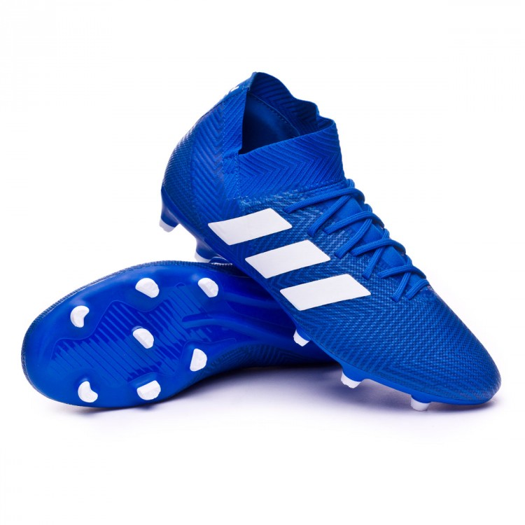 73f781a03 Football Boots adidas Nemeziz 18.3 FG Football blue-White-Football ...