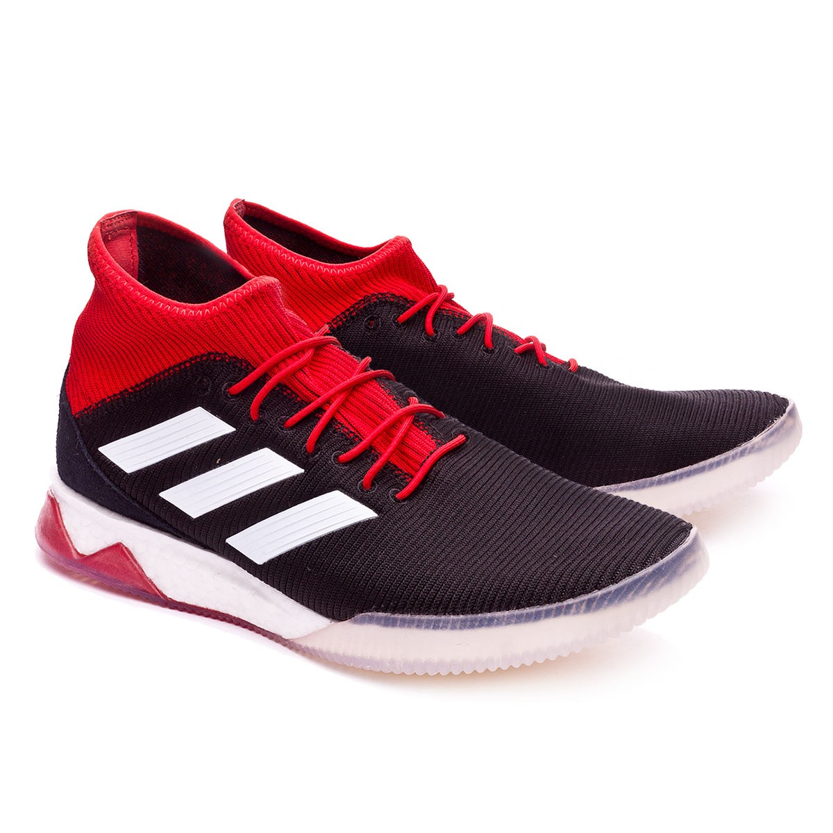 7f760abbb3c adidas Predator Tango 18.1 TR Trainers. Core black-White-Red ...