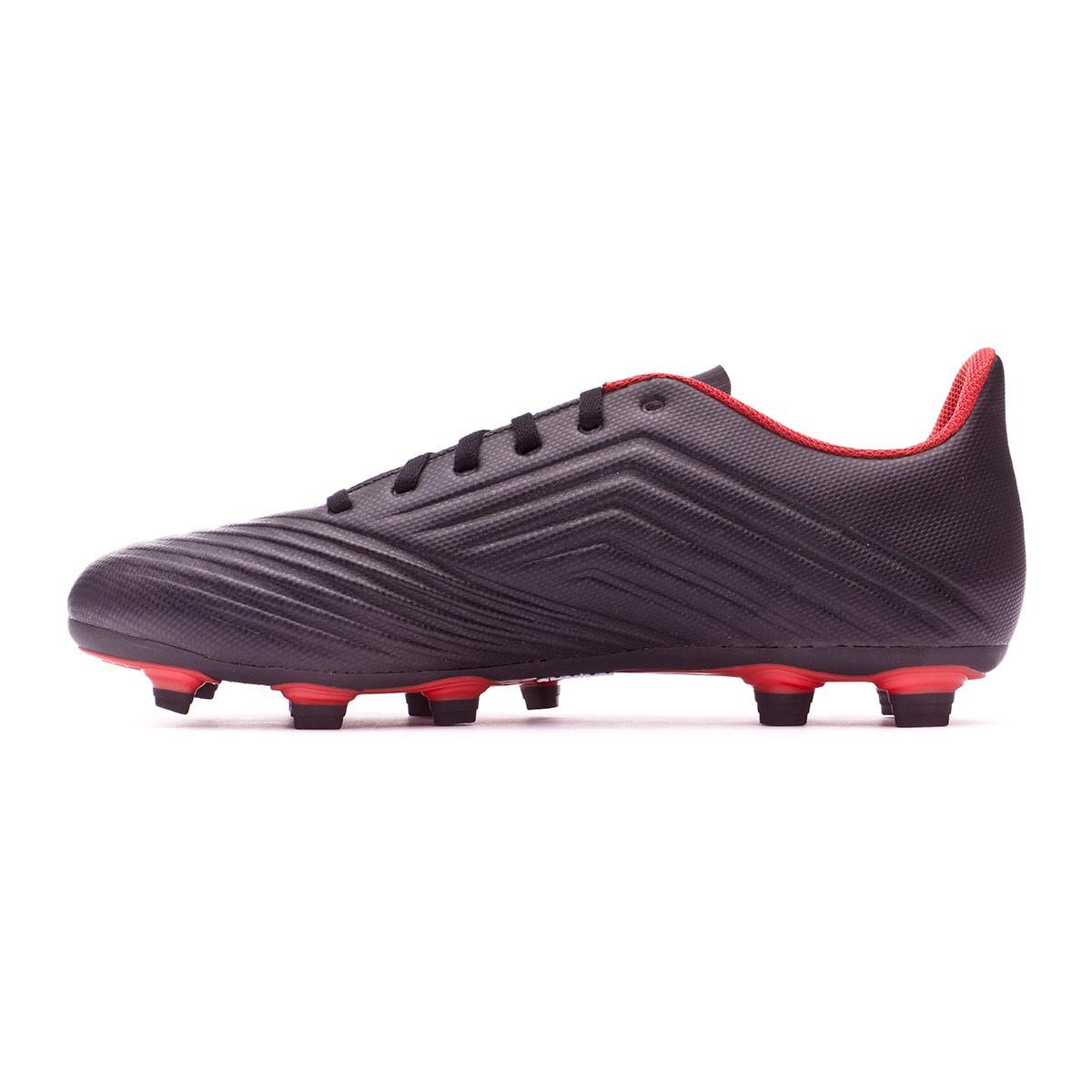 check out e9b2e 289d3 Bota de fútbol adidas Predator 18.4 FxG Core black-White-Red - Soloporteros  es ahora Fútbol Emotion