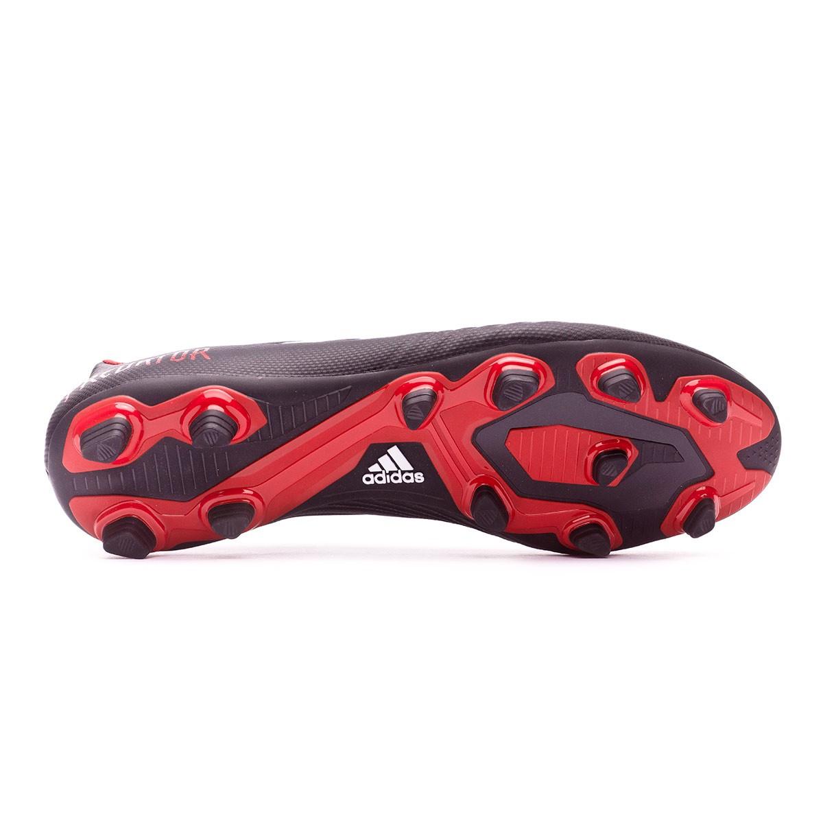 07027bc872511 Football Boots adidas Predator 18.4 FxG Core black-White-Red - Tienda de  fútbol Fútbol Emotion