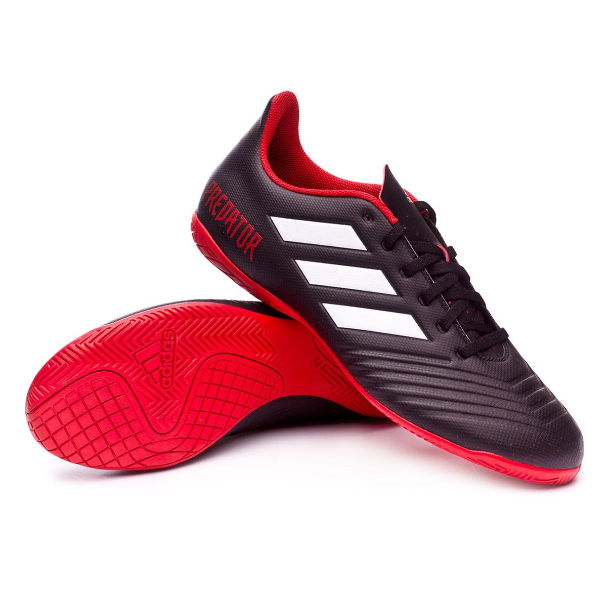 30191a622 Futsal Boot adidas Predator Tango 18.4 IN Core black-White-Red - Football  store Fútbol Emotion