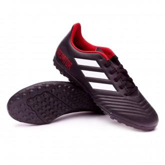 Football Boot  adidas Predator Tango 18.4 Sala Turf Core black-White-Red