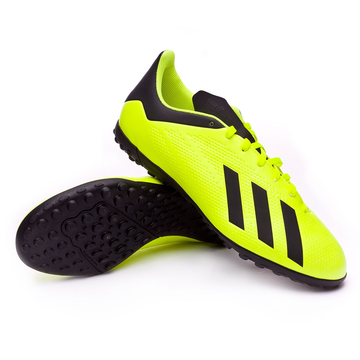 b7e95518143d1c Football Boot adidas X Tango 18.4 Turf Solar yellow-Core black-White ...