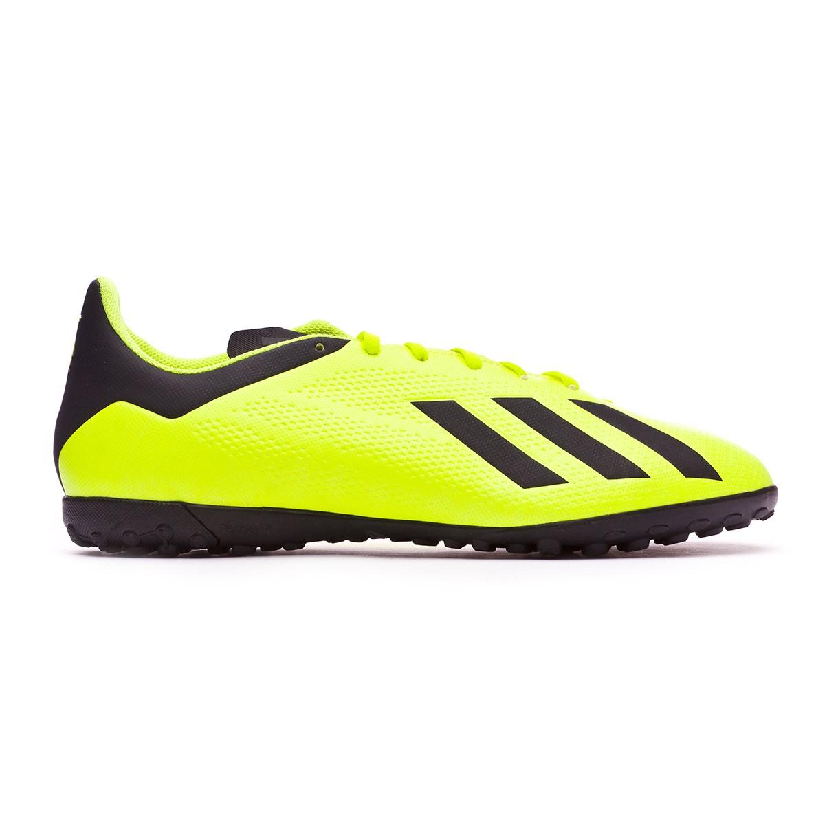 302f8a44f8160 Football Boot adidas X Tango 18.4 Turf Solar yellow-Core black-White -  Football store Fútbol Emotion
