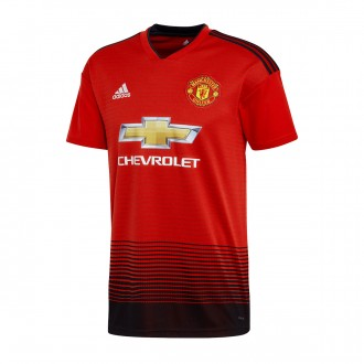 Jersey  adidas Manchester United FC 2018-2019 Home Real red-Black