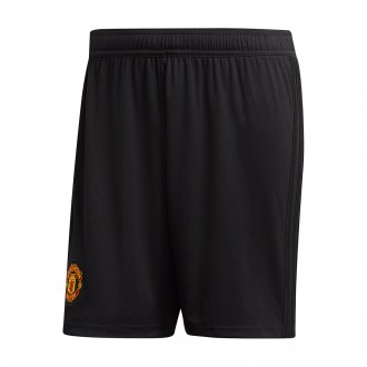 Shorts  adidas Manchester United FC 2018-2019 Home Black-Real red