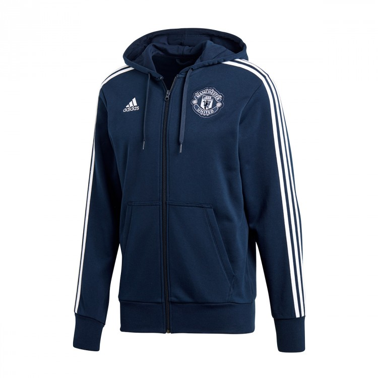 498923df1fbec Jacket adidas Manchester United FC 3S FZ Hoodie 2018-2019 Collegiate ...