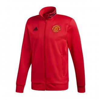 Chaqueta  adidas Manchester United FC 3S 2018-2019 Real red-Bblack