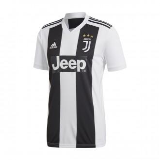 Camiseta  adidas Juventus Primera Equipación 2018-2019 Black-White