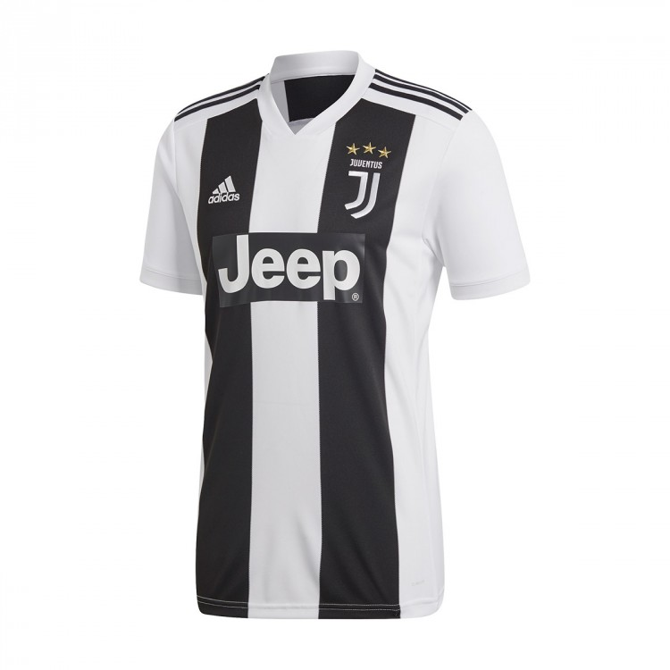 f0d18cab67460 Camiseta adidas Juventus Primera Equipación 2018-2019 Black-White ...