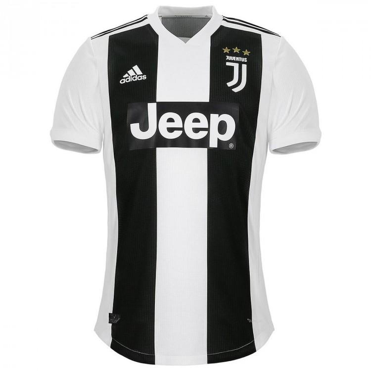 Camiseta adidas Juventus Primera Equipación 2018-2019 Black-White - Tienda de fútbol Fútbol Emotion