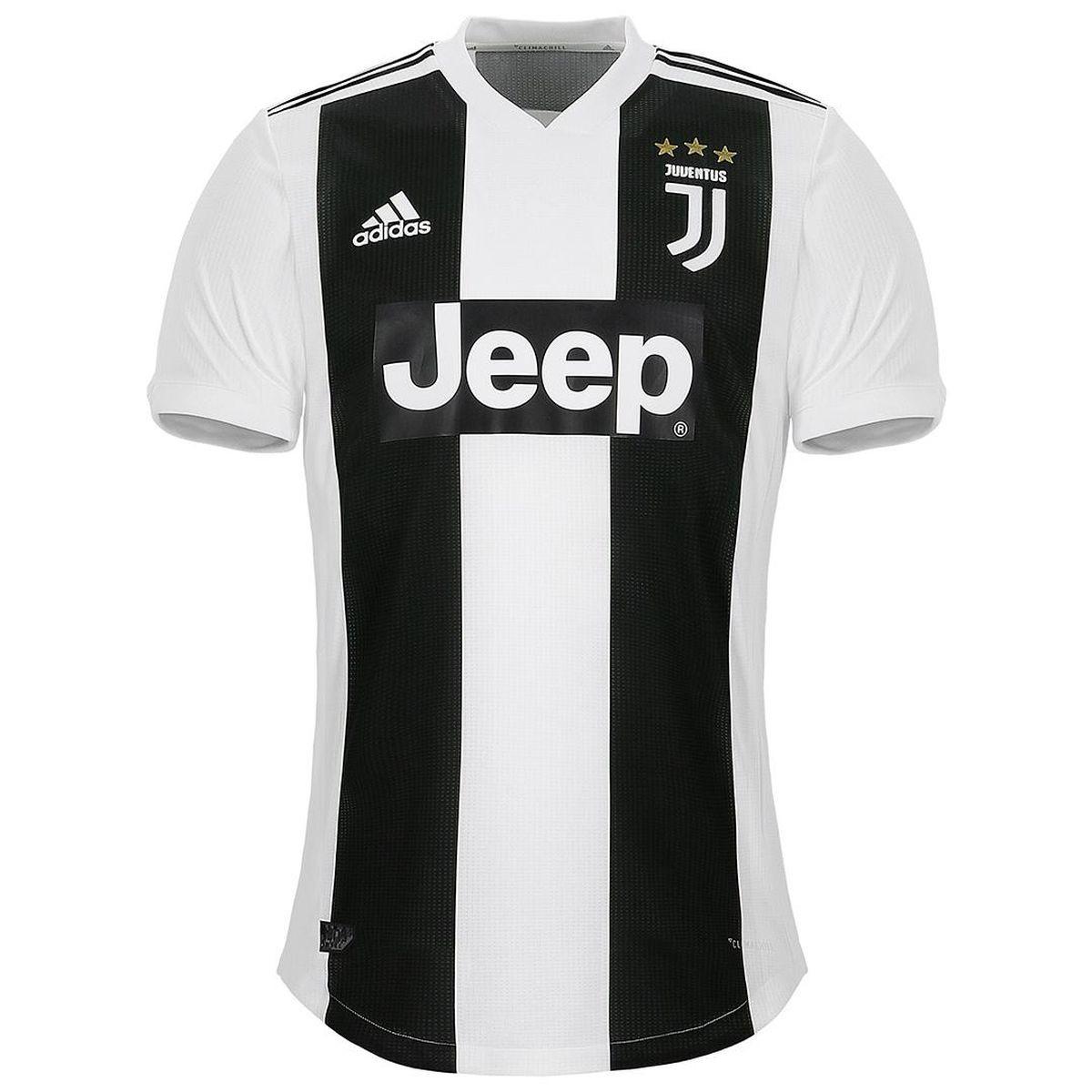 cb8f5f6659380 Camiseta adidas Juventus Primera Equipación 2018-2019 Black-White - Tienda  de fútbol Fútbol Emotion