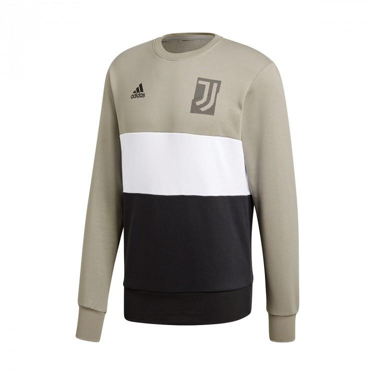 Juventus Adidas Leaked Sw Sesame Soccer Gra 2018 2019 Sudadera RBwgR