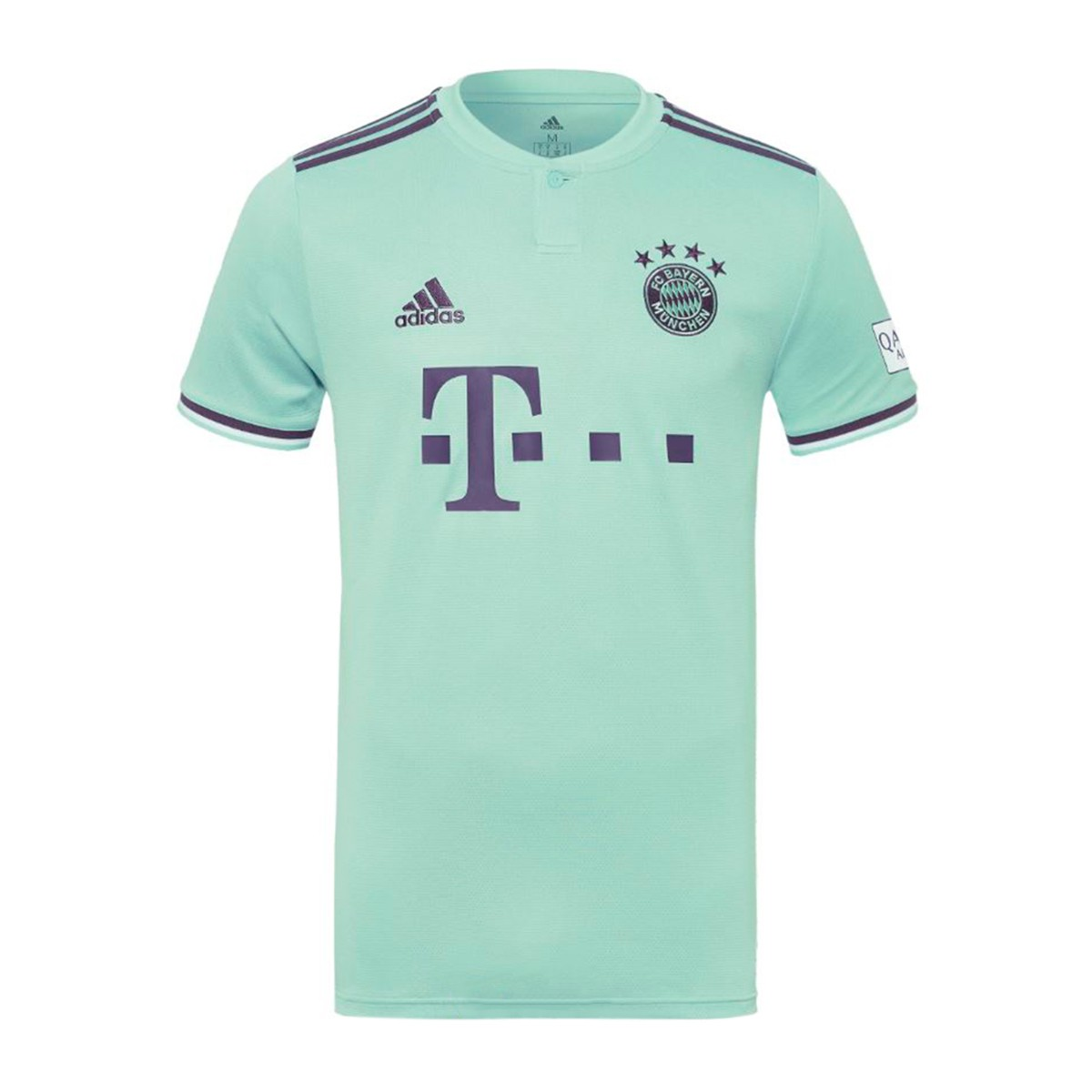 Jersey adidas FC Bayern Munich 2018-2019 Away Green-Trace purple ... 34268d549c9