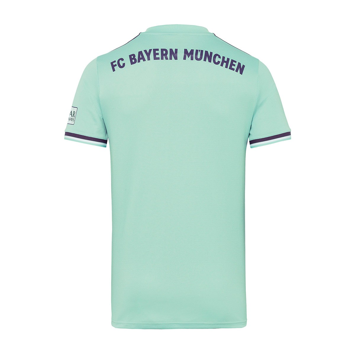 cheaper 0f37f ec82a Camiseta FC Bayern Munich Segunda Equipación 2018-2019 Green-Trace  purple-White