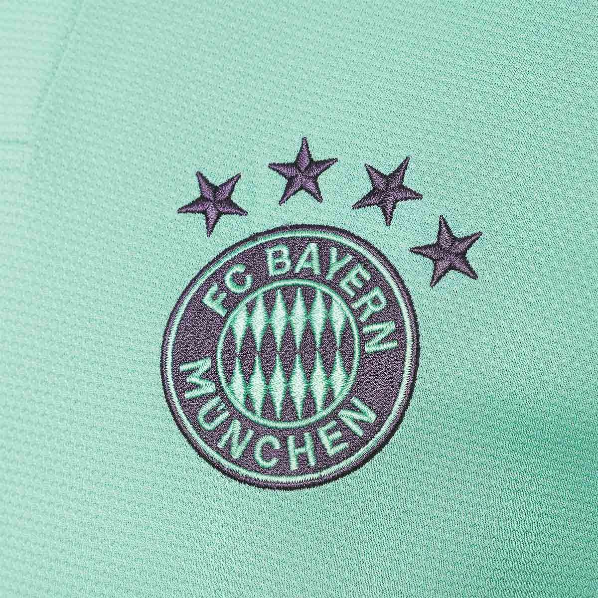 630e6c5633b Jersey adidas FC Bayern Munich 2018-2019 Away Green-Trace purple-White -  Football store Fútbol Emotion