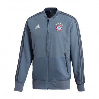 Jacket  adidas FC Bayern Munich EU Prematch 2018-2019 Raw steel