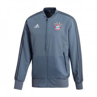 Jacket  adidas FC Bayern Munich EU Prematch 2018-2019 Raw steel