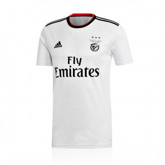 Jersey  adidas SL Benfica 2018-2019 Away White-Black-Benfica red