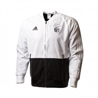 Casaco  adidas SL Benfica Prematch 2018-2019 White