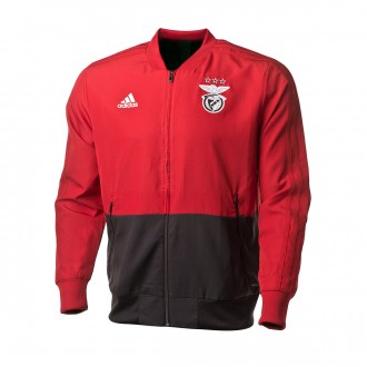 Jacket adidas SL Benfica Prematch 2018-2019 Power red c69e5f3d4ef