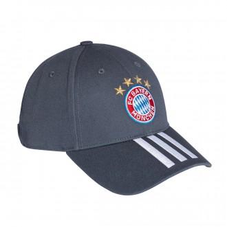 Boné  adidas FC Bayern Munich 3S 2018-2019 Utility blue-White