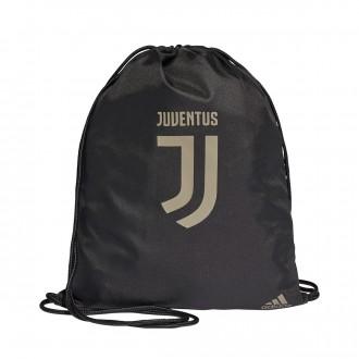 Mochila  adidas Gymsack Juventus GB Black-Clay