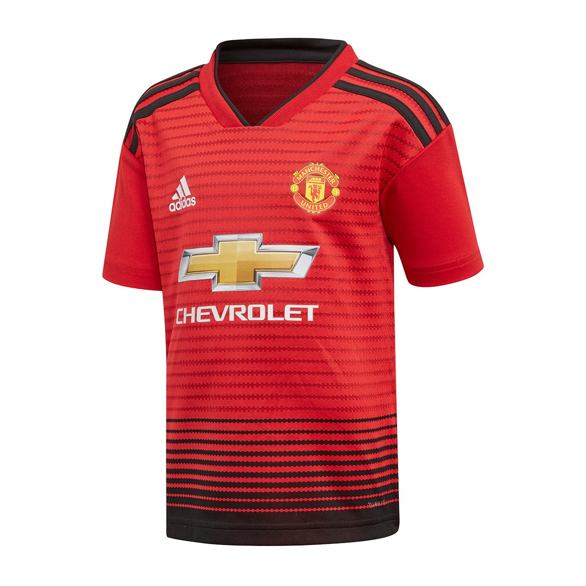 156fe141b Kit adidas Kids Manchester United FC 2018-2019 Home Real red-Black - Tienda  de fútbol Fútbol Emotion