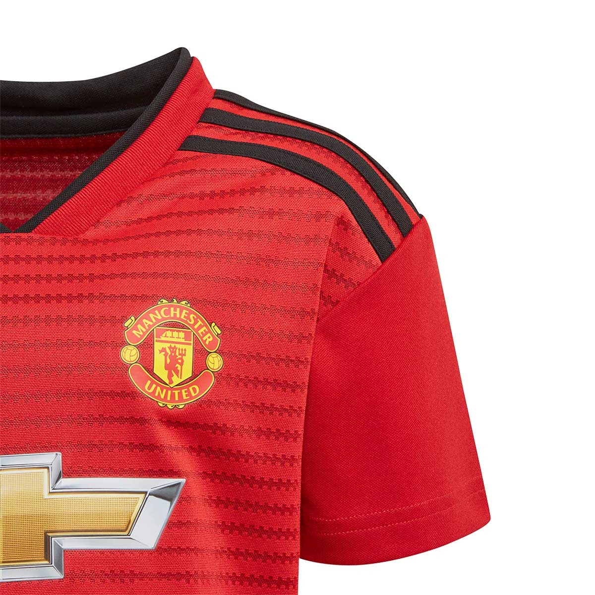 buy popular 25f46 70bd8 Conjunto Manchester United FC Primiera Equipación 2018-2019 Niño Real  red-Black