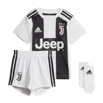 Conjunto  adidas Bebé Juventus Primera Equipación 2018-2019 Black-White