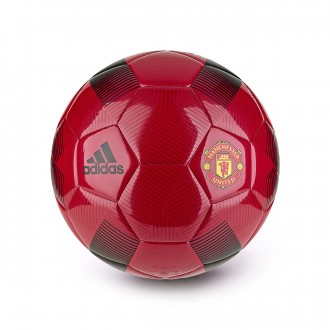 Balón  adidas Manchester United FC 2018-2019 Real red-Black-Power red
