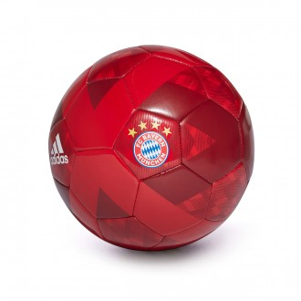Bola de Futebol  adidas FC Bayern Munich 2018-2019 True red-White-Strong red-Collegiate navy