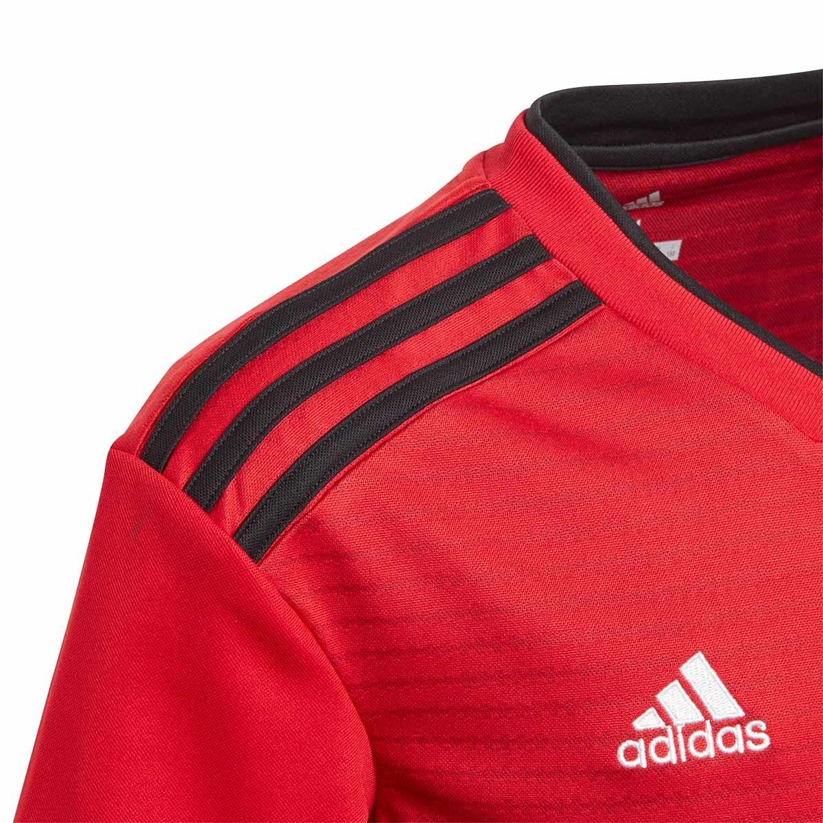 Camiseta adidas Manchester United FC Primera Equipación 2018-2019 Niño Real  red-Black - Soloporteros es ahora Fútbol Emotion d572c35ceaf6d