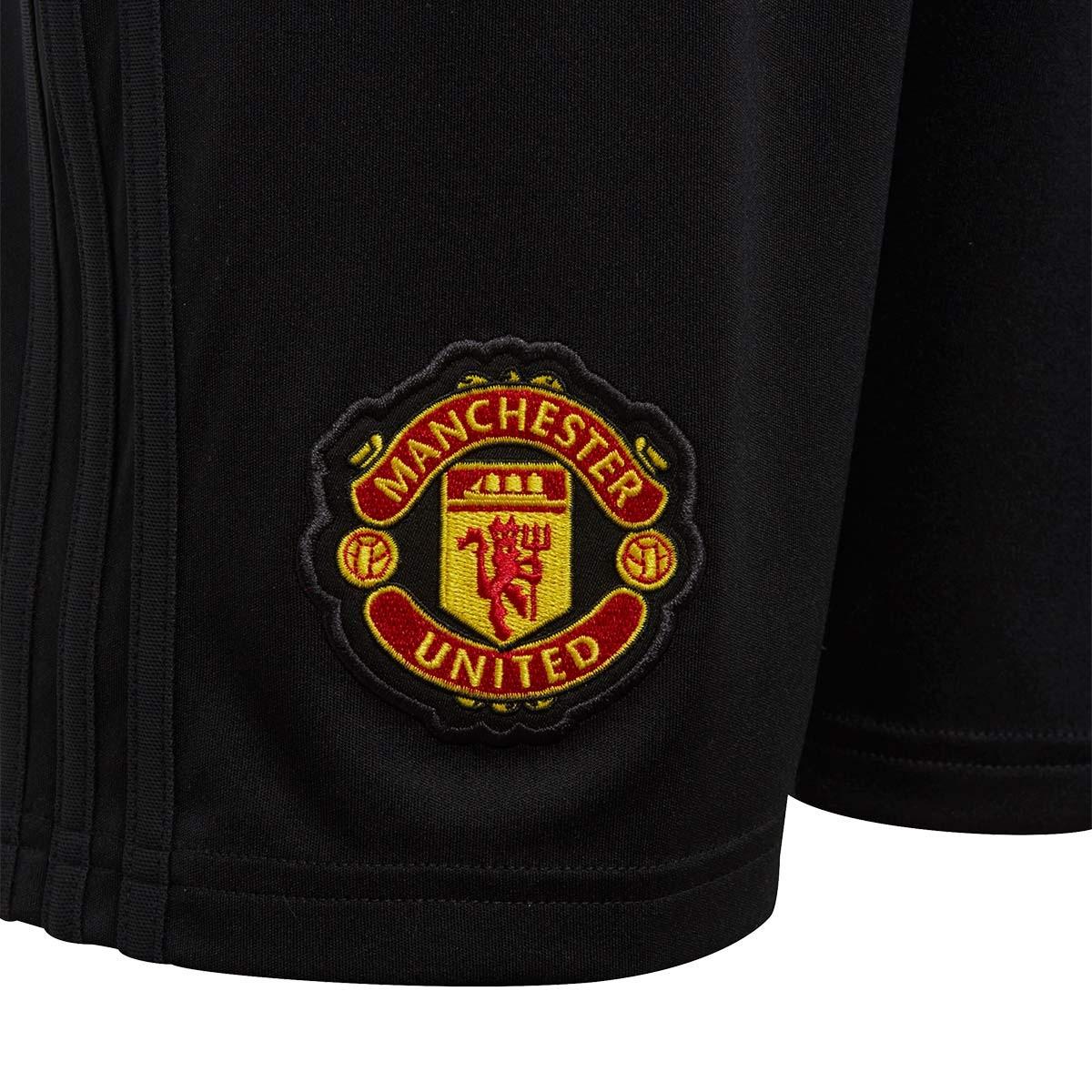 edd80ba037bb8 Pantalón corto adidas Manchester United FC Primera Equipación 2018-2019 Niño  Black-Real red - Tienda de fútbol Fútbol Emotion