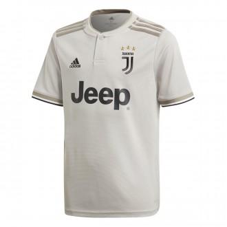 Maillot  adidas Juventus Extérieur 2018-2019 enfant Sesame-Clay