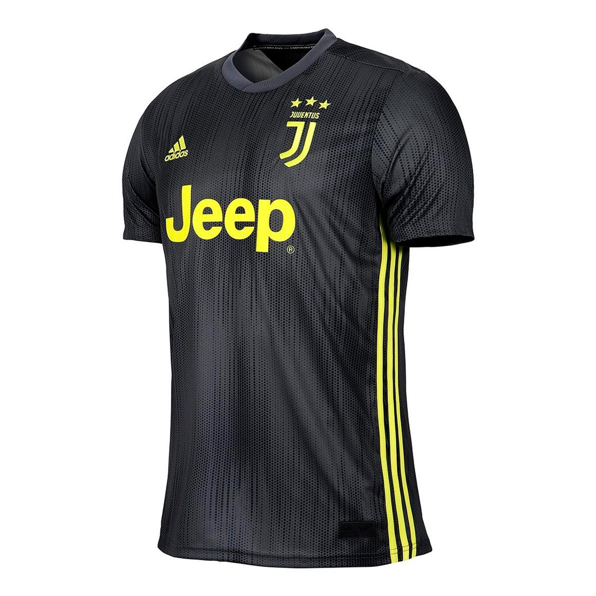 9117af8f4 Jersey adidas Kids Juventus 2018-2019 Third Carbon-Shock yellow ...