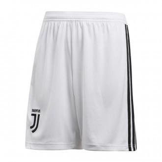 Pantalón corto  adidas Juventus Primera Equipación 2018-2019 Niño White