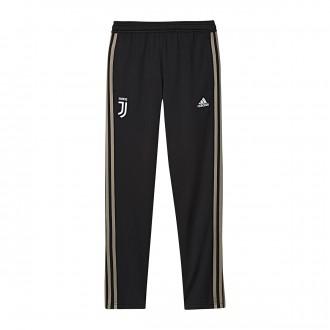 Pantalon  adidas Juventus PES 2018-2019 Niño Black-Clay