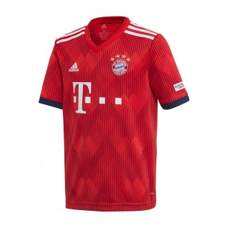 Jersey  adidas Kids FC Bayern Munich  2018-2019 Home True red-Strong red-White
