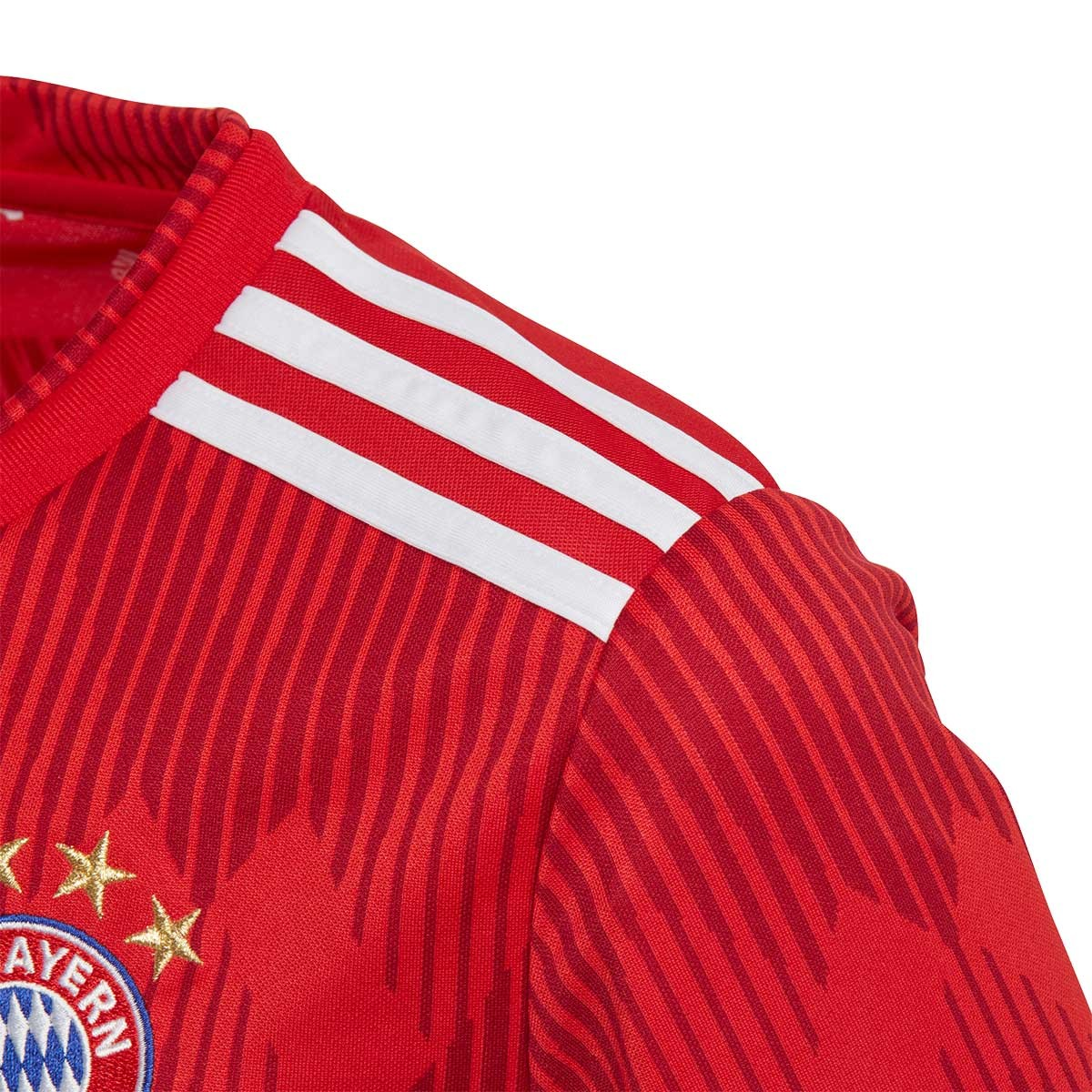 7fa7753fd858 Jersey adidas Kids FC Bayern Munich 2018-2019 Home True red-Strong red-White  - Soloporteros es ahora Fútbol Emotion