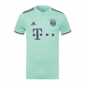 Jersey  adidas Kids FC Bayern Munich 2018-2019 Away Green-Trace purple-White