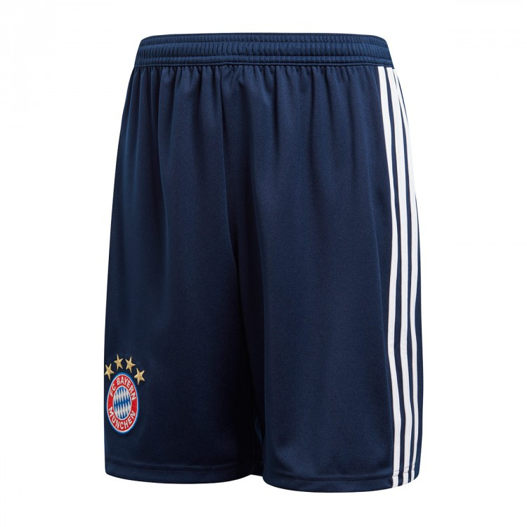 02a22a325c6 Shorts adidas Kids FC Bayern Munich 2018-2019 Home Collegiate navy ...
