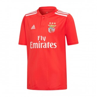 Jersey  adidas Kids SL Benfica 2018-2019 Home Benfica red-White