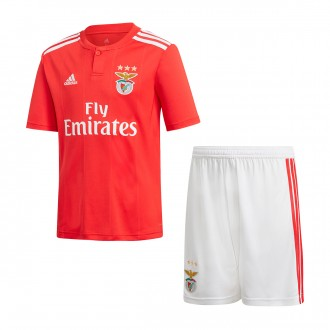 Kit  adidas Kids SL Benfica SMU 2018-2019 Home Benfica red-White