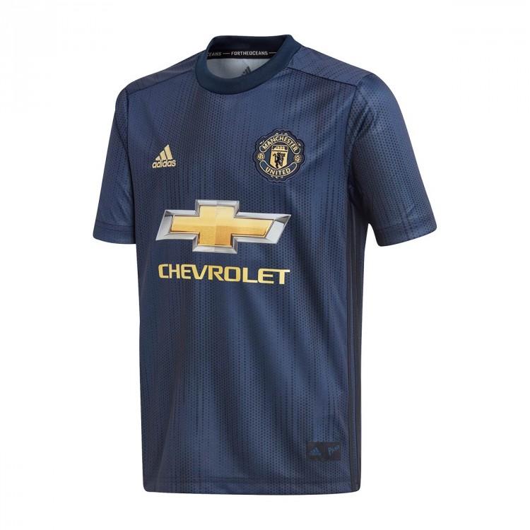 Camiseta adidas Manchester United FC Tercera Equipación 2018-2019 ... 6a97595c72a