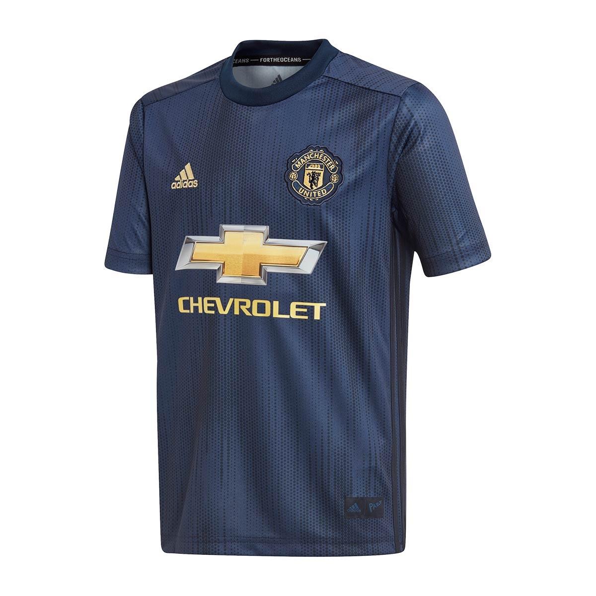 Maglia adidas Manchester United FC Terza Divisa 2018-2019 Junior