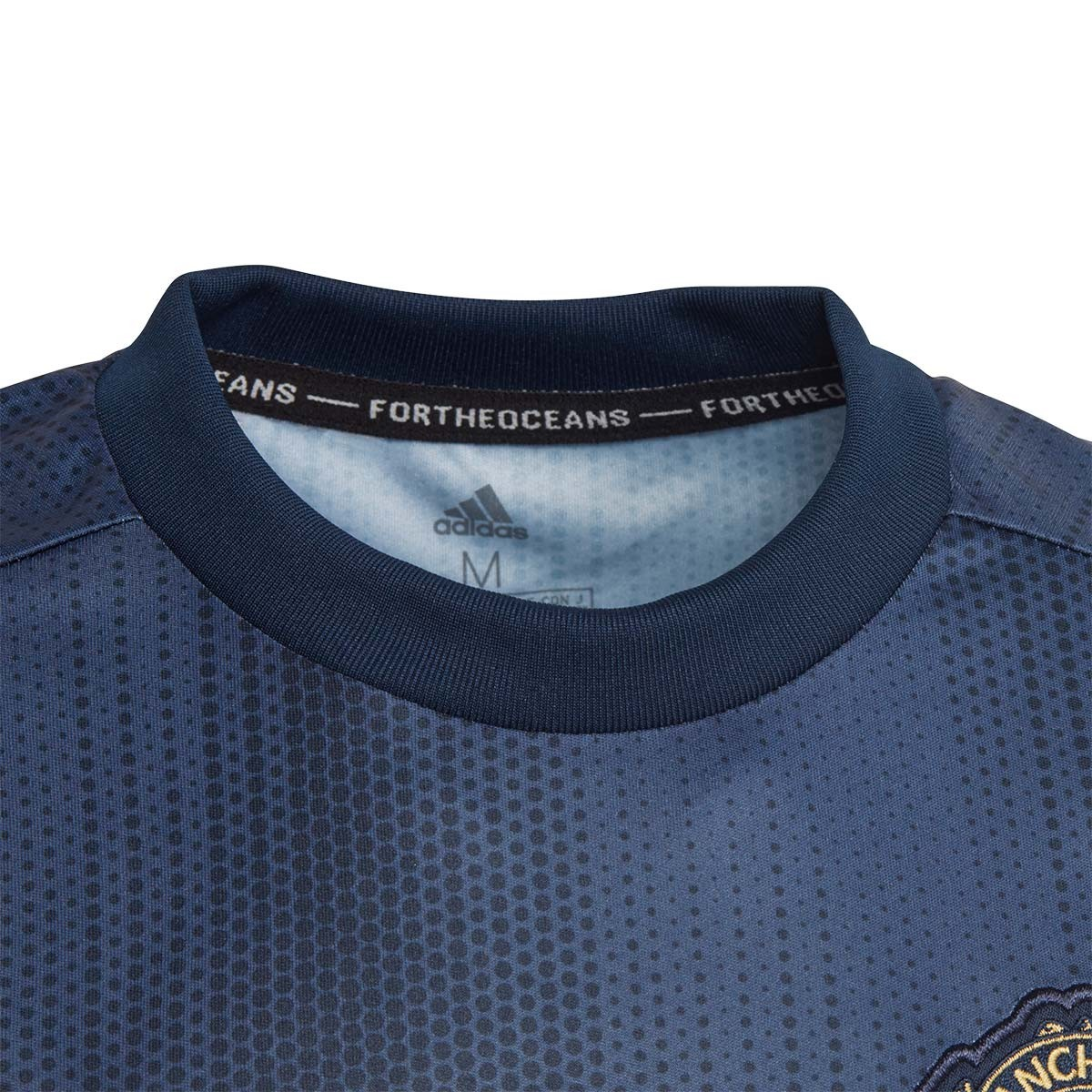 buy online 9a0c0 f13f5 Camiseta Manchester United FC Tercera Equipación 2018-2019 Niño Collegiate  navy-Night navy-Matte gold